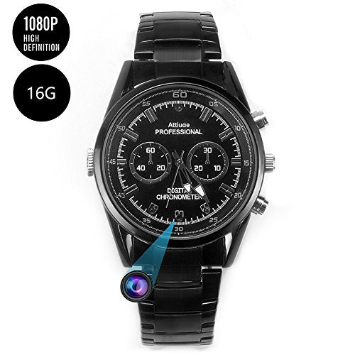 Motion Detection Spy Camera Watch  - Spy Shop SA