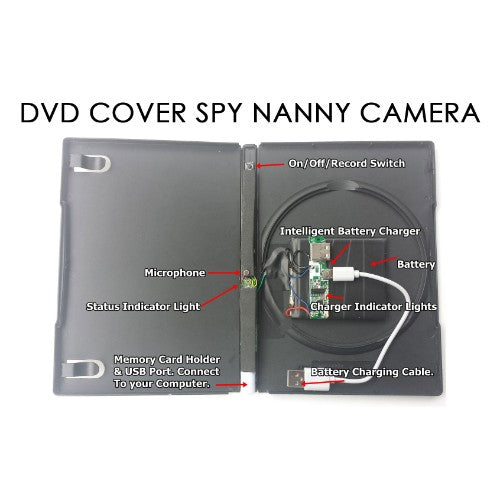 DVD Cover Spy Nanny Camera - Spy Shop SA