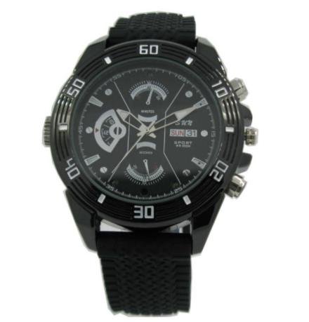 Spy Camera Watch with Night Vision - Spy Shop SA