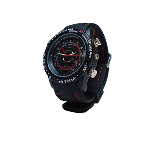 Spy Camera Watch - Rubber - Spy Shop SA