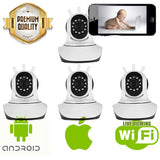 Indoor Nanny Cams for Smartphones - 4 Pack - Spy Shop SA