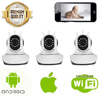 Indoor Nanny Cams for Smartphones - 3 Pack - Spy Shop SA