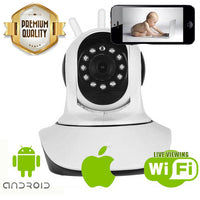 Indoor Nanny Cam for Smartphones - Spy Shop SA