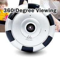 Indoor 360 Nanny Cam for Smartphones - Spy Shop SA