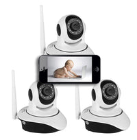 Indoor Nanny Cams for Smartphones - 3 Pack
