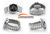 Cheap Spy Camera Watch - Metal