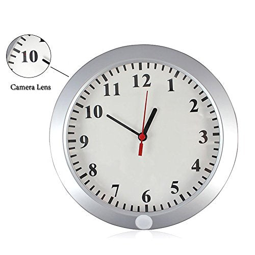 Wall Mounted Spy Clock - PIR - Spy Shop SA