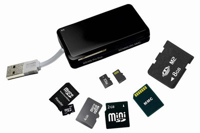 Multi Card Reader - Spy Shop SA