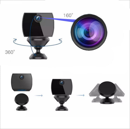 King Spy Camera with WiFi