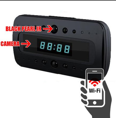 Night Vision Clock Cam for Smartphones