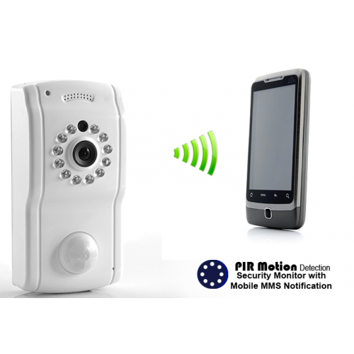 PIR Spy Camera with GSM MMS Feedback - Spy Shop SA