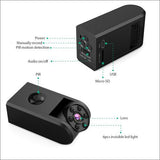Portable PIR Spy Camera with Night Vision
