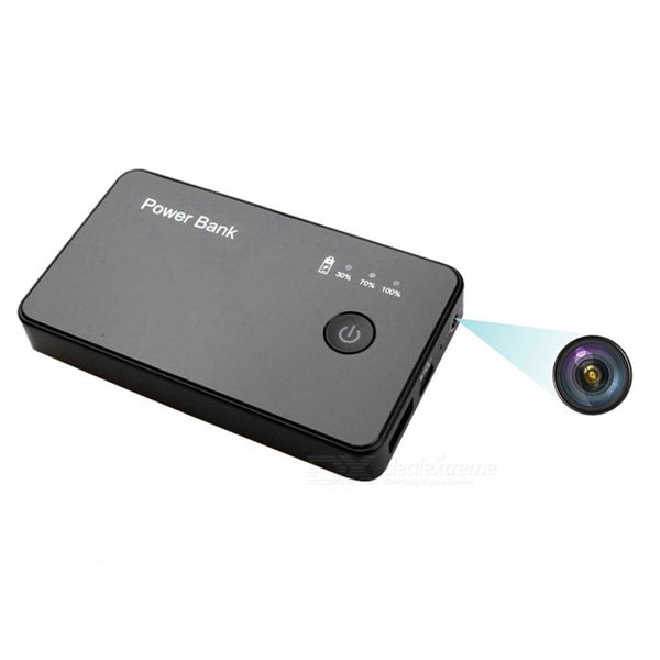 Spy Camera Power Bank for Smartphones