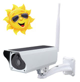solar powered cctv camera