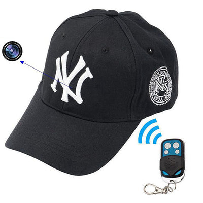 Baseball Cap Spy Camera - Spy Shop SA