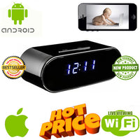 Desktop Spy Clock for Smartphones - Spy Shop SA