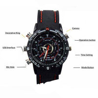 Cheap Spy Camera Watch - Rubber