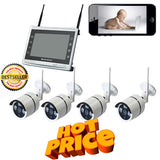 Wireless 4 Channel CCTV System