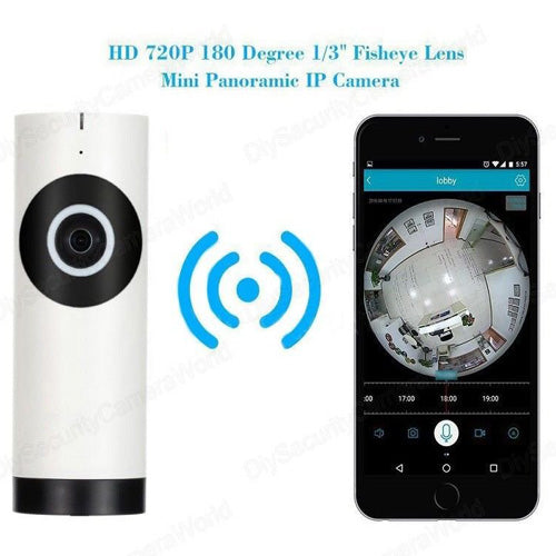 180 Nanny Camera for Smartphones - Spy Shop SA