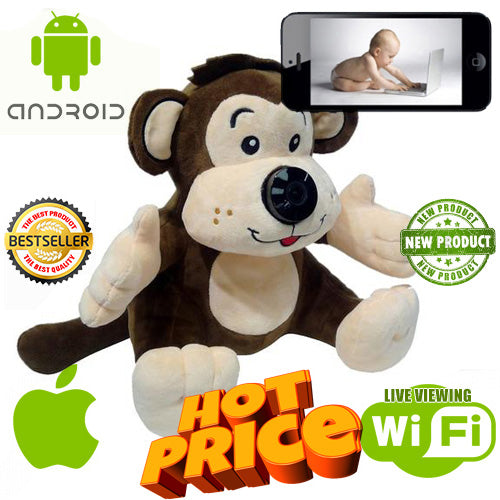 Wireless Spy Camera Toy - Spy Shop SA