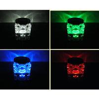 Solar Powered LED Crystal Light - Outdoor