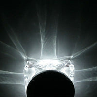 Solar Powered LED Crystal Light - Outdoor - Spy Shop SA