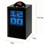 Hidden Camera Alarm Clock with Remote