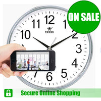 Spy Camera Wall Clock for Smartphones - FHD - Spy Shop SA