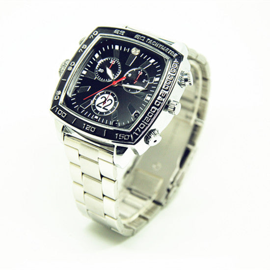 Metal Spy Camera Watch - Spy Shop SA