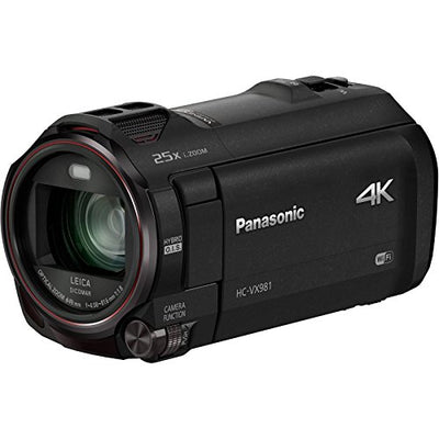 Panasonic HD 4K Camcorder with Wi-Fi