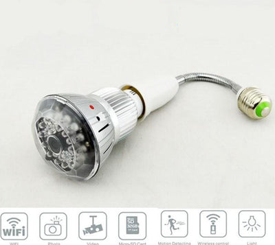 WiFi Spy Camera Bulb - Spy Shop SA