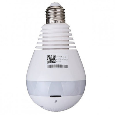 Hidden Camera Light Bulb for Smartphones