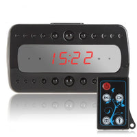Night Vision Spy Camera Clock - Pearl - Spy Shop SA