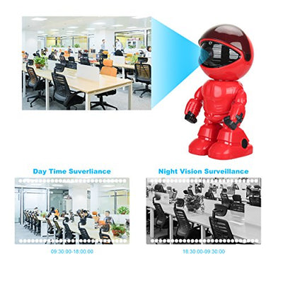 Robot Hidden Camera for Smartphones