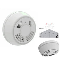 Wireless WiFi Smoke Detector Camera