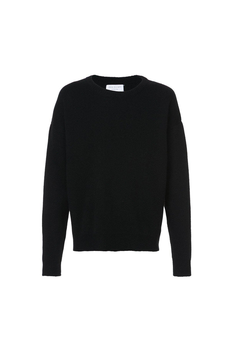 Cashmere Cropped Crewneck Sweater-John Elliott-Patron of the New