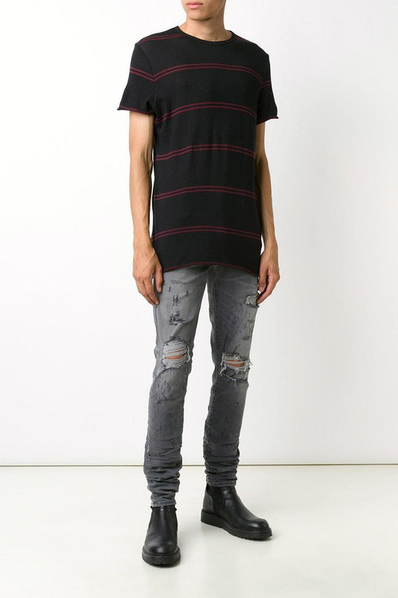 Double Stripe T-Shirt-Amiri-Patron of the New