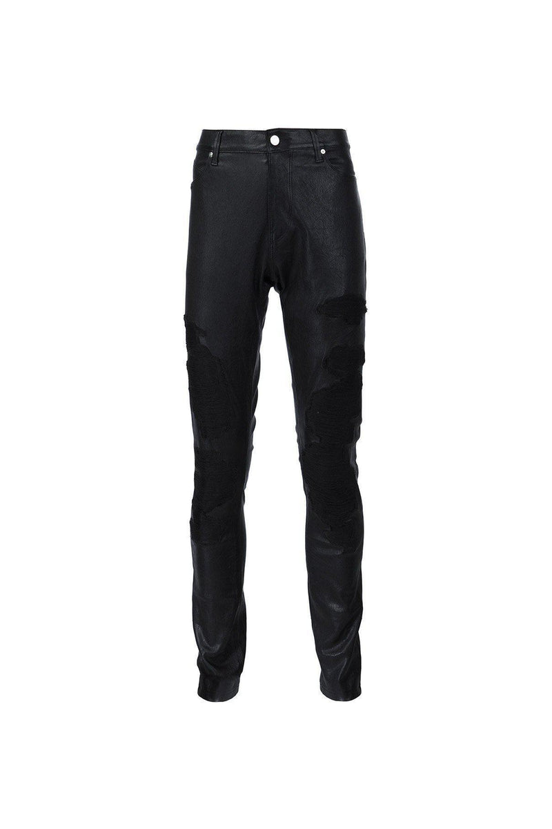 Embroidered Skinny Leather Pant-RtA-Patron of the New