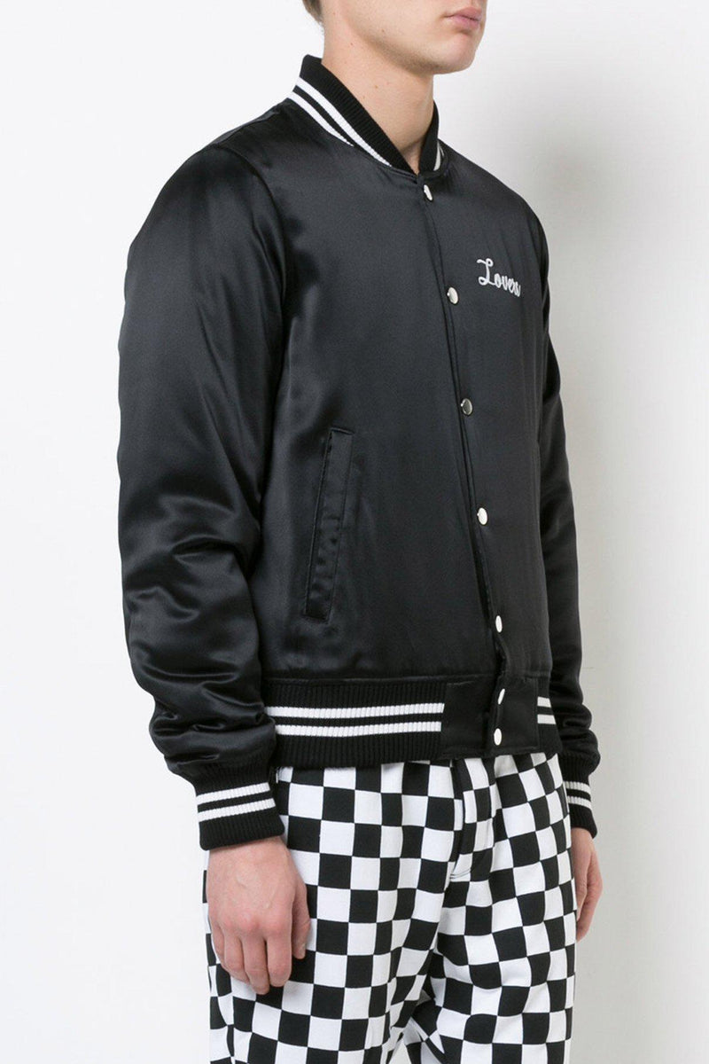 Lovers Baseball Jacket-Amiri-Patron of the New