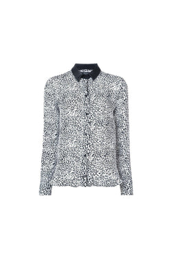 Snow Leopard Button Up Shirt-Amiri-Patron of the New