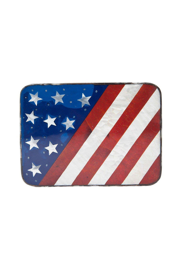 USA Square Clutch-Rocio-Patron of the New