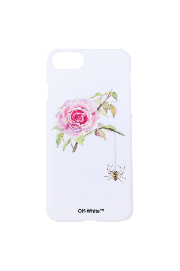Watercolor Rose iPhone Case-Off-White-Patron of the New