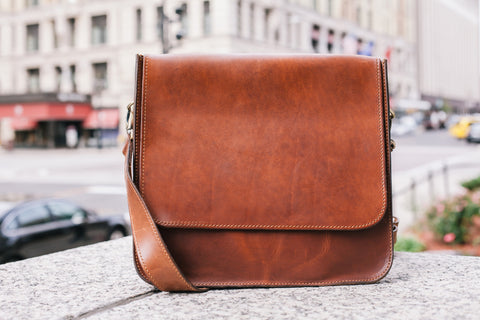 The Handmade Leather 1846 Messenger Bag