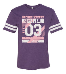Purple varsity T-Shirt