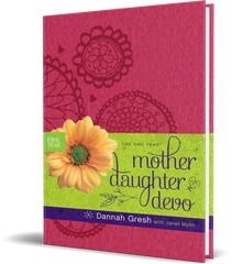 The One Year Mother-Daughter Devo -- Leatherbound