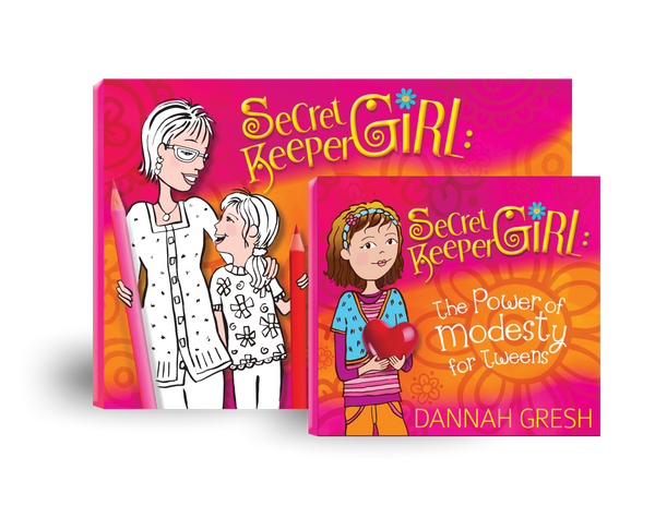 Secret Keeper Girl: Modesty and Devos set