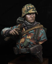 Load image into Gallery viewer, The Battle of Normandy, WWII German 12th SS Panzer Division bust