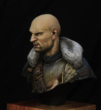 Load image into Gallery viewer, Medieval Mercenary Historical Bust