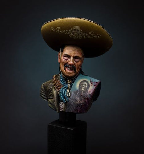 Mexican Outlaw, El Coyote 1:10 Historical bust