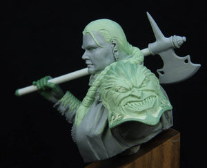 Barbara the warrior woman bust